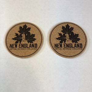 New England Virtual Distance Challenge - Coaster Set
