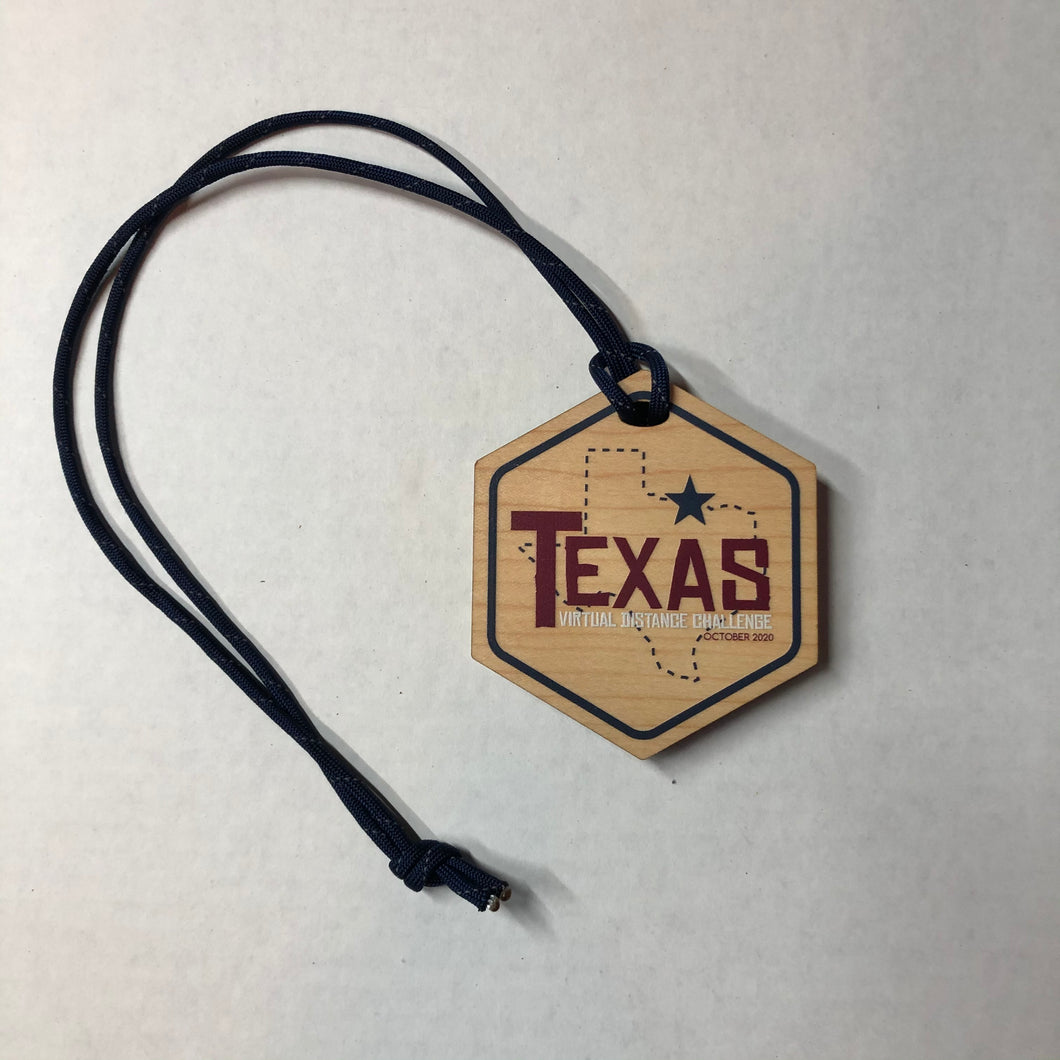 Texas Virtual Distance Challenge - October Challenge