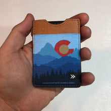 Load image into Gallery viewer, Colorado Mountains Thread Wallet