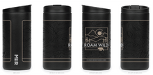 Load image into Gallery viewer, Roam Wild Double-Walled, Vacuum Insulated Stainless Steel 12oz Travel Tumbler (MiiR) - Black