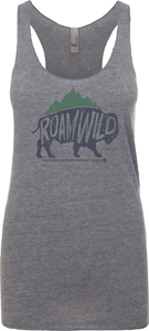 Roam Wild Bison - Women's Tank Top - Premium Heather
