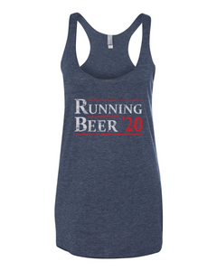Running/Beer 2020 - Women's Tank Top - Vintage Navy