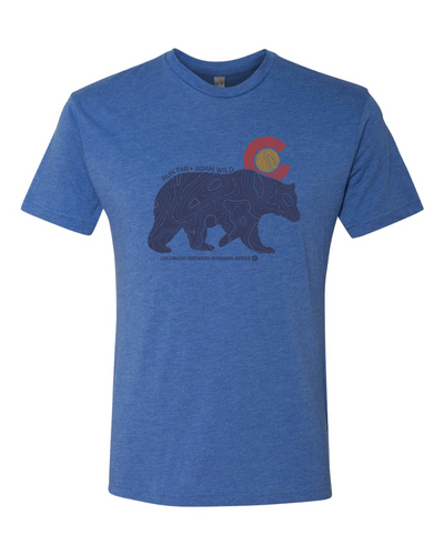 Topo Bear (Run Far Roam Wild) - Vintage Royal