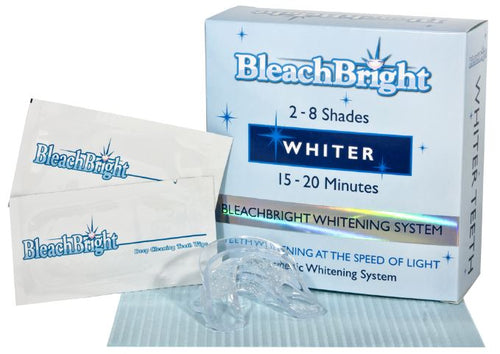 Teeth Whitening - BleachBright Pre-filled LED Whitening Kit