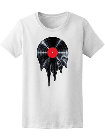 Melting Vinyl Record T-Shirt