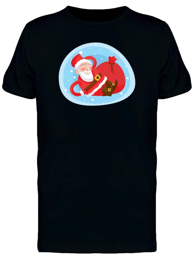 Cool Santa Claus Xmas Cartoon T-Shirt