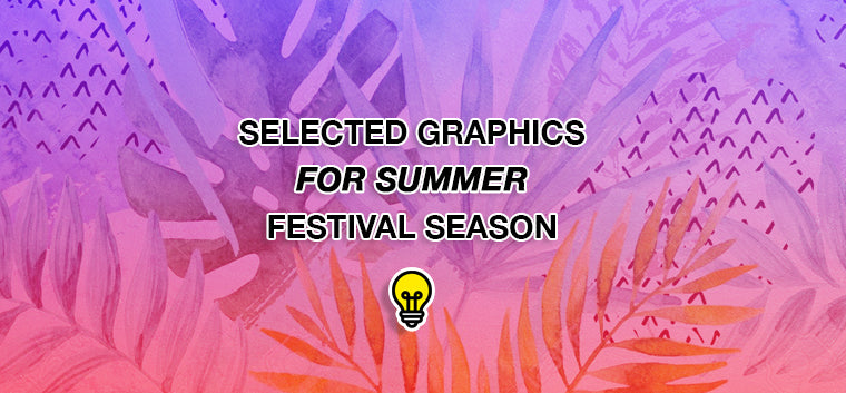 Selected Graphics for Summer Festival Season