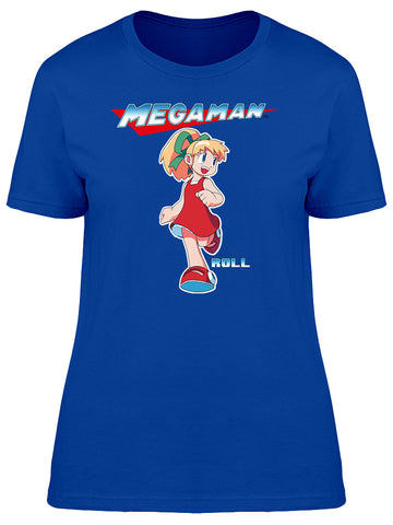 Capcom Mega Man Roll Graphic Women's T-shirt