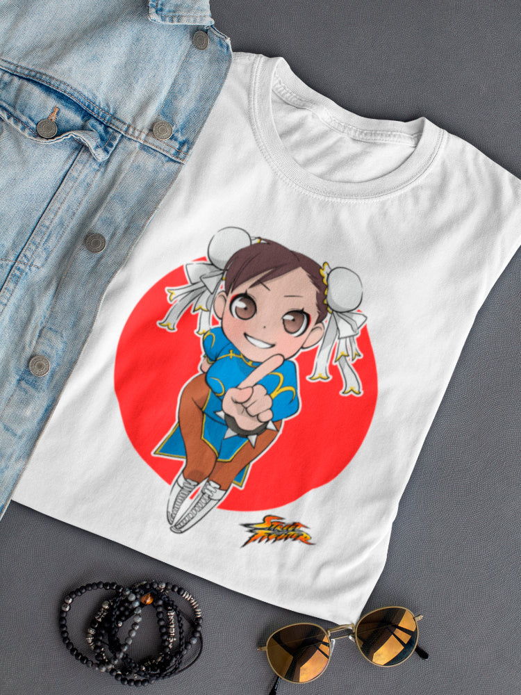Street Fighter Chun Li Tee Women's -Capcom Designs