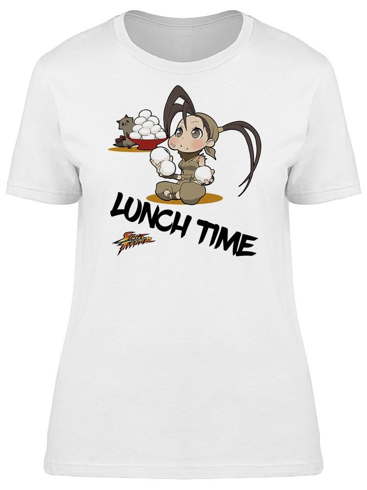 Street Fighter Lunch Time Tee Women's -Capcom Designs