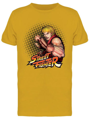 Street Fighter Ken Tee Men's -Capcom Designs