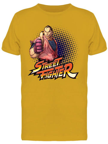 Street Fighter Dan Hibiki Tee Men's -Capcom Designs