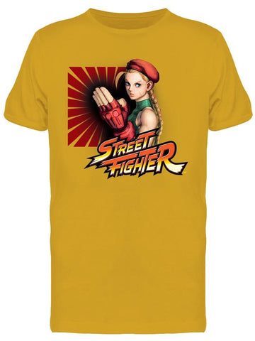 Street Fighter Cammy Tee Men's -Capcom Designs