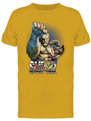 Street Fighter Sagat Tee Men's -Capcom Designs