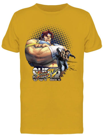 Street Figher Thunder Hawk Tee Men's -Capcom Designs