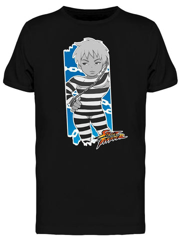 Street Fighter Cody Tee Men's -Capcom Designs