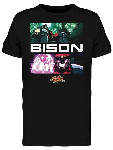 Street Fighter Bison Tee Men's -Capcom Designs