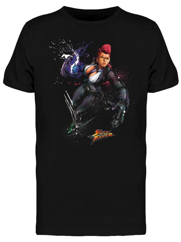 Street Fighter Crimson Viper Tee Men's -Capcom Designs