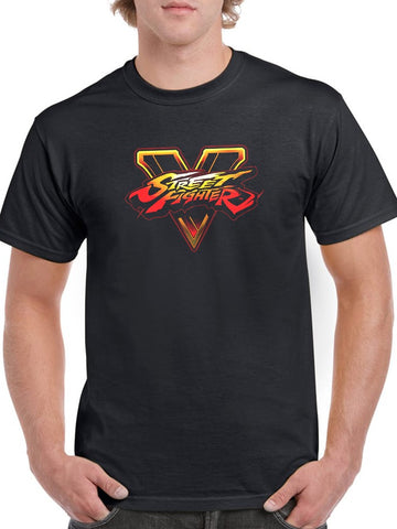 Street Fighter V Video Game Tee Men's -Capcom Designs