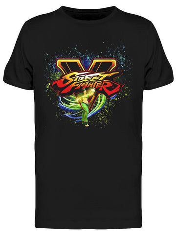 Street Fighter Laura Tee Men's -Capcom Designs