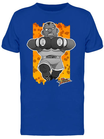 Street Fighter Balrog Cartoon Tee Men's -Capcom Designs