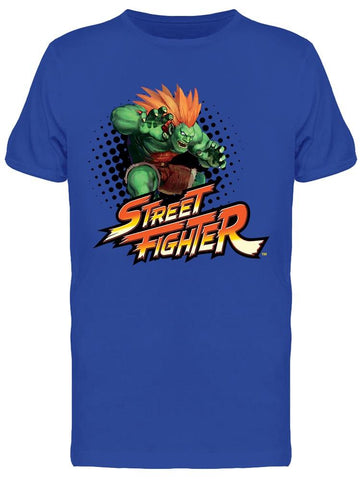 Street Fighter Blanka Tee Men's -Capcom Designs
