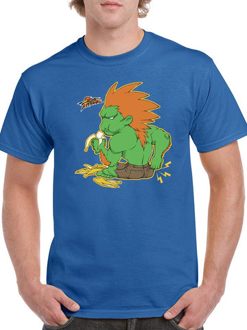 Street Fighter Blanka Bananas Tee Men's -Capcom Designs