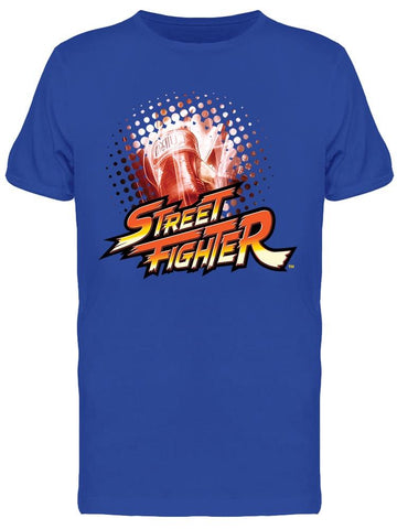Street Figher Fist Capcom Tee Men's -Capcom Designs