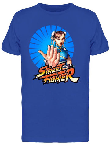 Street Fighter Chun-li  Capcom Tee Men's -Capcom Designs