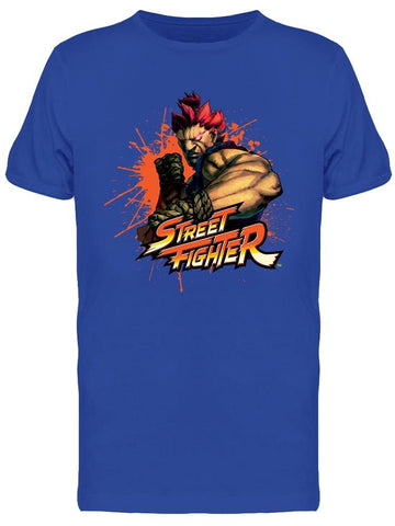 Street Fighter Akuma Video Game Tee Men's -Capcom Designs