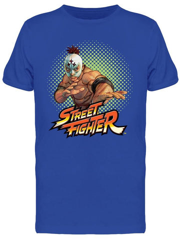 Street Fighter El Fuerte Tee Men's -Capcom Designs