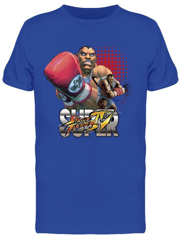 Street Fighter Iv Balrog Tee Men's -Capcom Designs