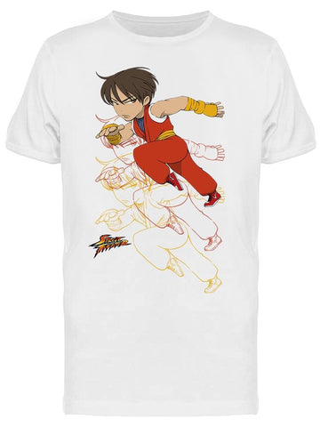 Street Fighter Guy Cartoon Tee Men's -Capcom Designs