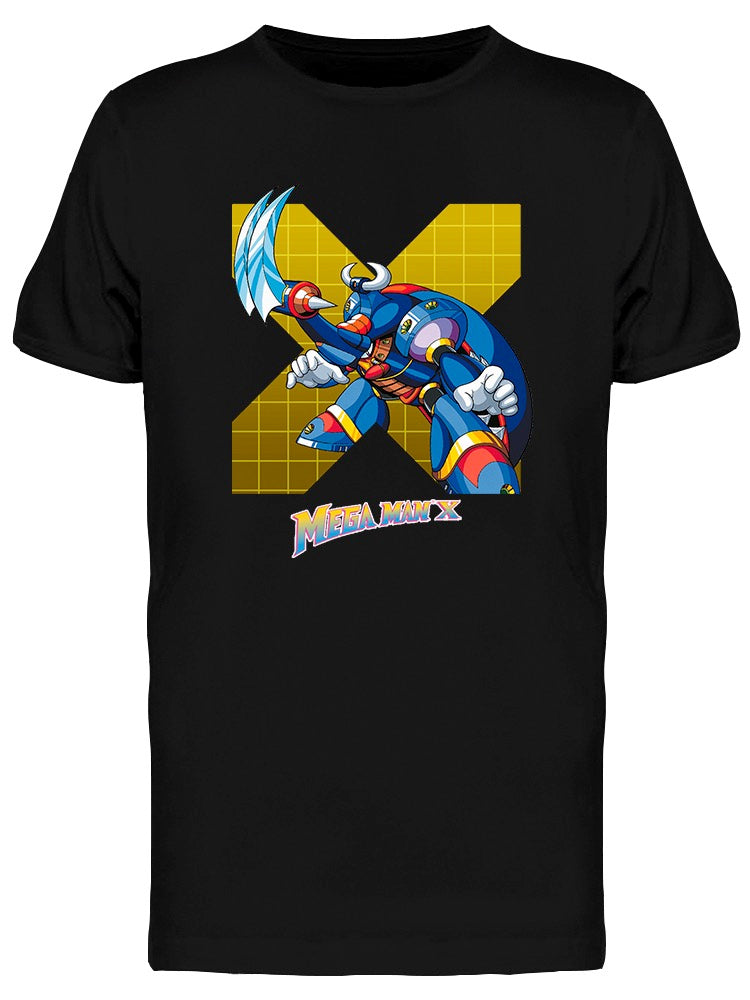 Megaman X Gravity Beetle Men's T-shirt