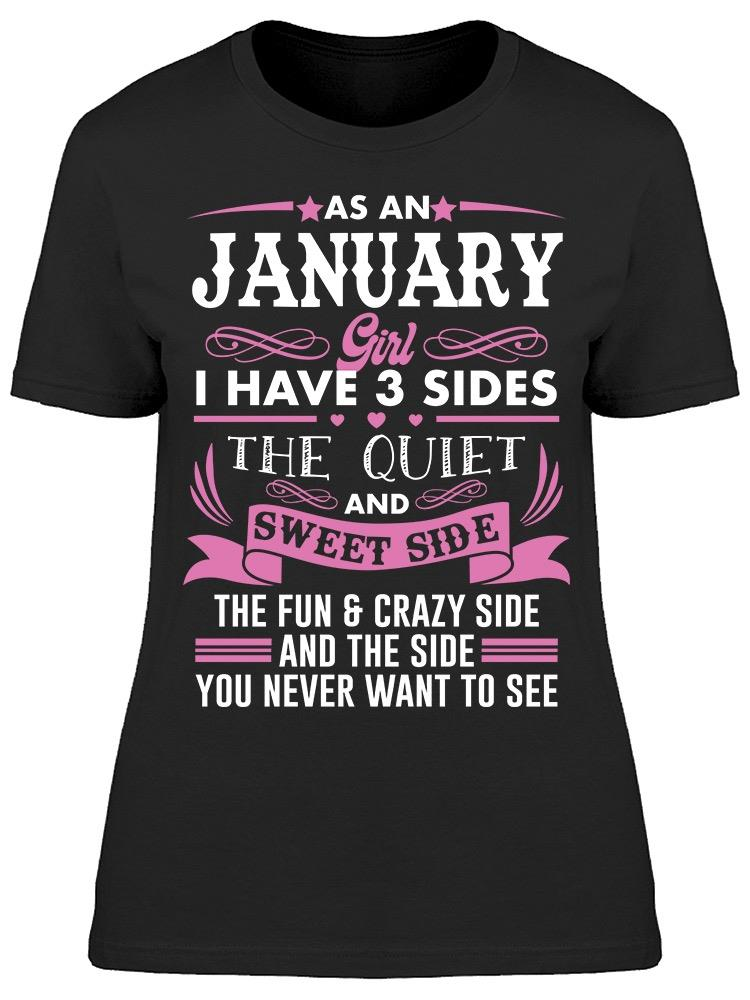 I Was Born In January Women's T-shirt
