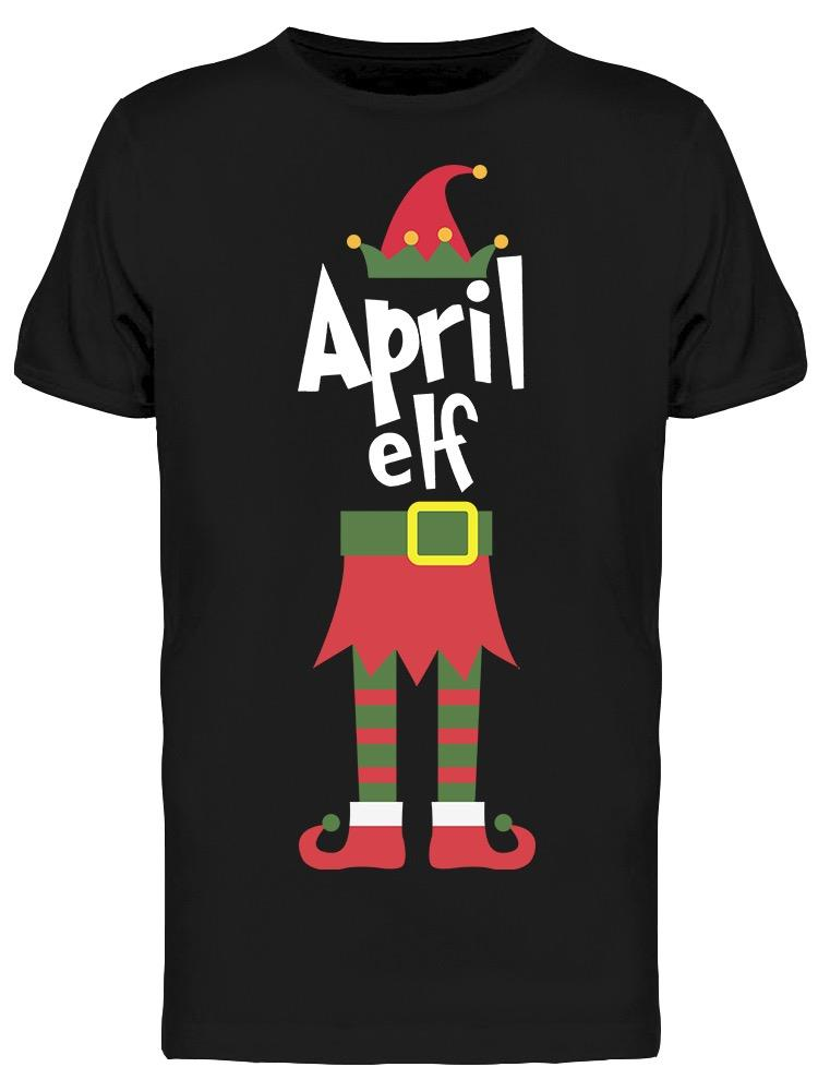Cool Elves Are Born In April Men's T-shirt