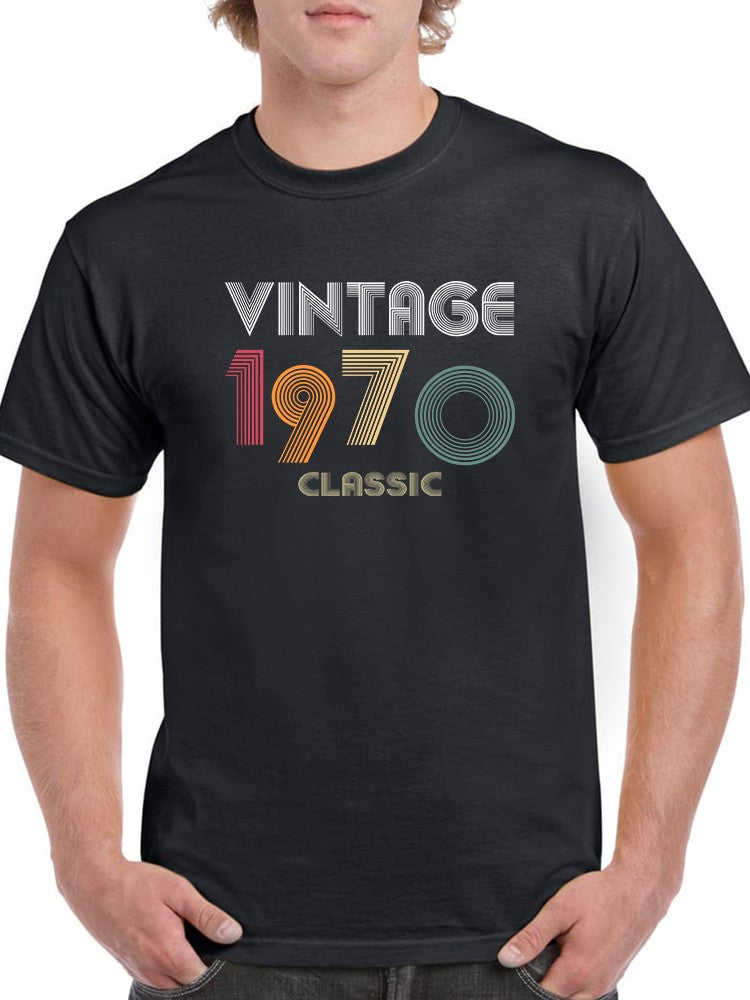 Classic Man Since 1970 Men's T-shirt