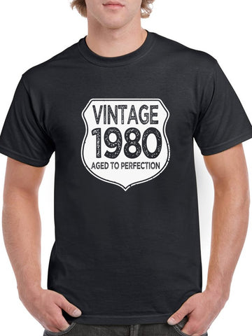 1980 Aged To Perfection Men's T-shirt