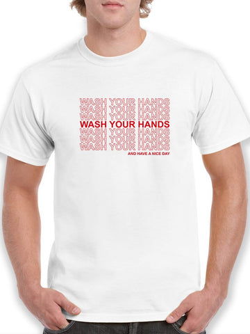 Wash Your Hands  Men's T-shirt