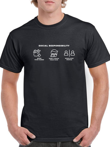 Social Responsibilities Men's T-shirt
