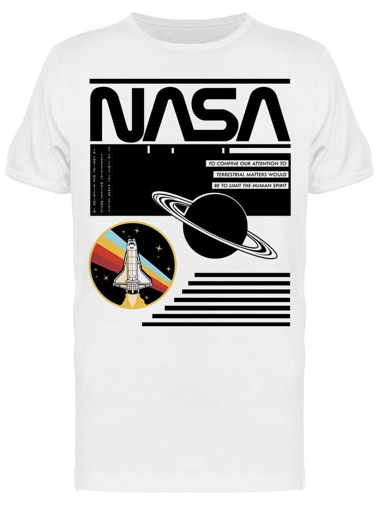 Nasa Saturn Men's T-shirt