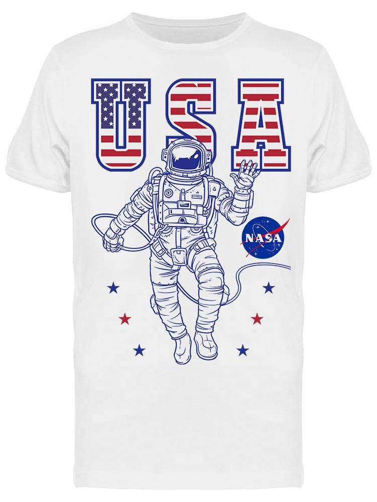 Nasa Astronaut Usa Men's T-shirt