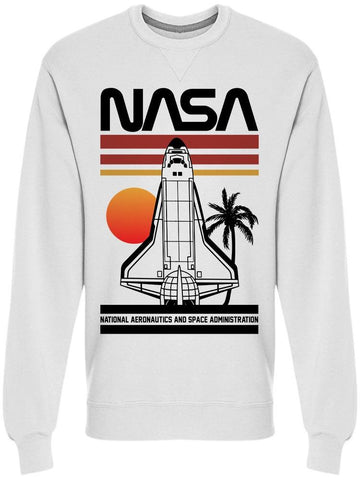 Nasa Space Ship Men's Sweatshirt