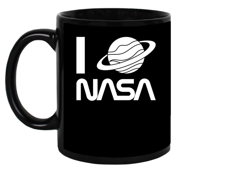 I Saturn Nasa Mug Unisex's -NASA Designs
