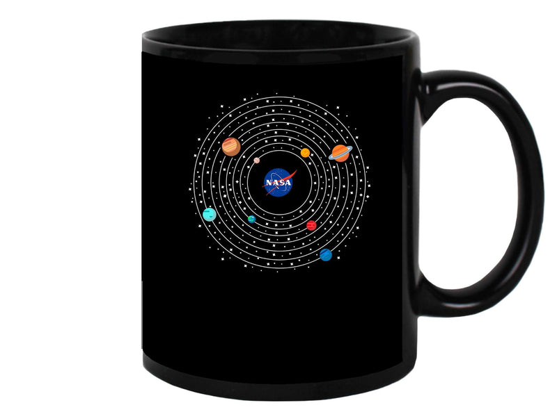 The Nasa Constellation Mug Unisex's -NASA Designs
