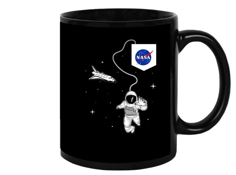 Nasa Astronaut And Ship Mug Unisex's -NASA Designs