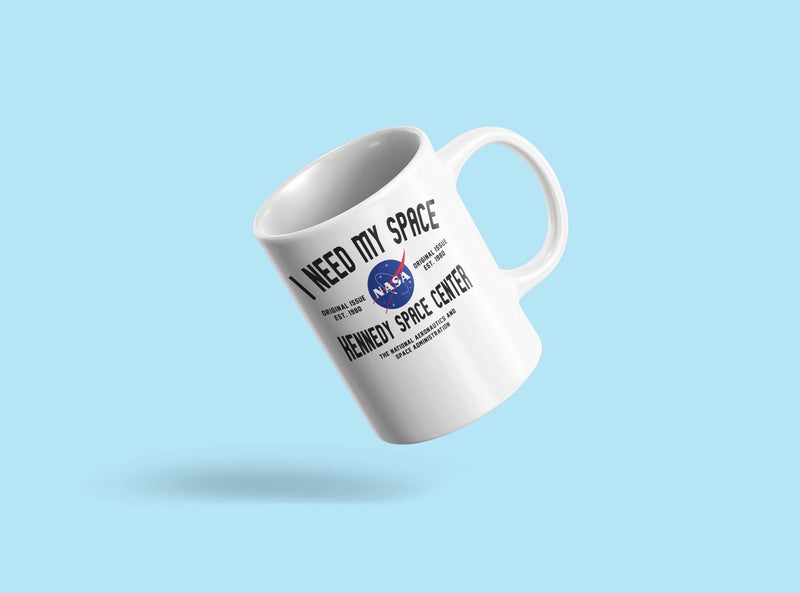 Need My Space, Nasa Mug Unisex's -NASA Designs