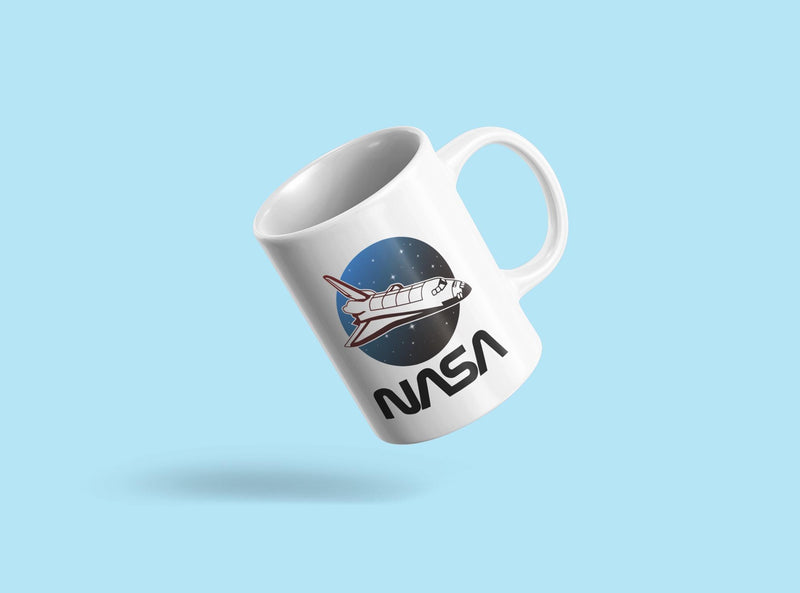Space Ship Nasa Mug Unisex's -NASA Designs