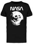 Space NASA Vintage Moon Picture Graphic Men's T-shirt