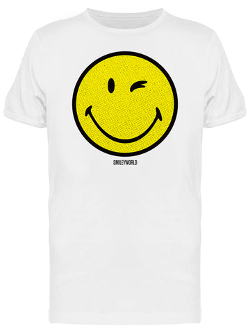 Smiley World Classic Yellow Happy Face Men's T-shirt